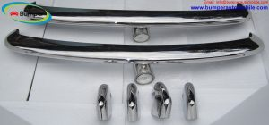 VW Type 3 bumper (1963 - 1969) by stainless steel.jpg
